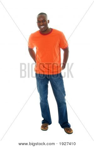 Casual Man In T Shirt And Jeans 2