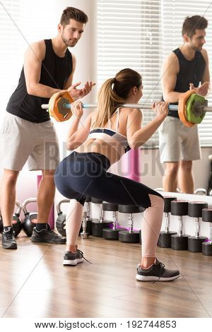 Training Hard With Trainer's Motivation
