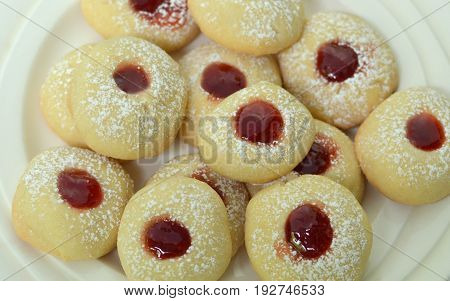Swedish Christmas Vanilla Cookie also called Vaniljkakor
