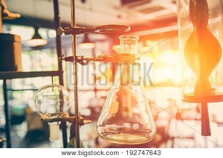future of chemical science and research laboratory concept.
