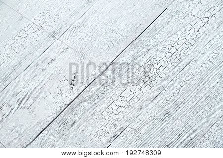 Wooden background with craquelure pattern: top view