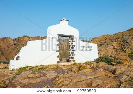 Mirador In The Mountains Of Betancuria In The Southern Part Of The Canary Island Fuerteventura, Spai