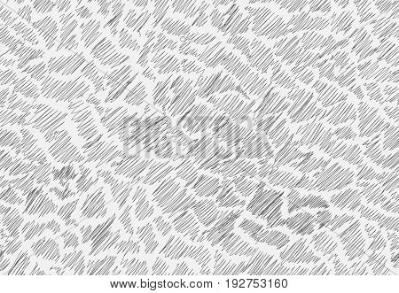 Doodle Strokes Seamless Pattern