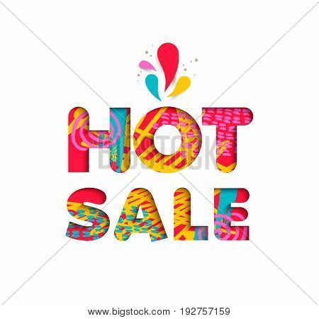 Hot Sale Color Quote Sign For Big Special Discount