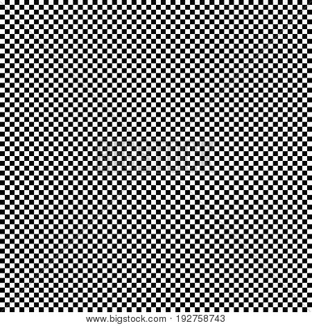 Black And White Seamless Geometric Pattern. Repeatable Texture / Background. Checkered Backdrop