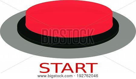 Push red button - Destroy. White background.