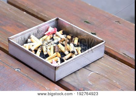 Smoking damages health and causes cancer ill