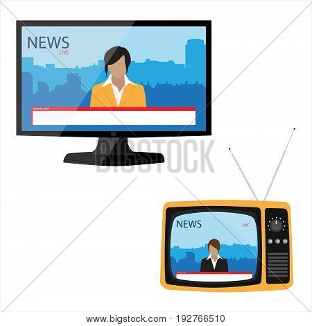 Internet Web Media Concept