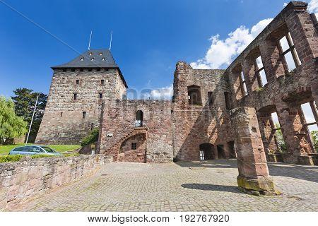 Nideggen Castle Ruins In Germany, Editorial