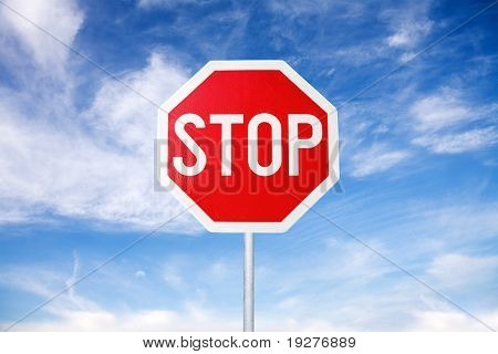 Stop Sign poster