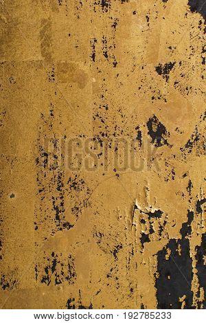 shiny Gold leaf gold foil texture grunge background