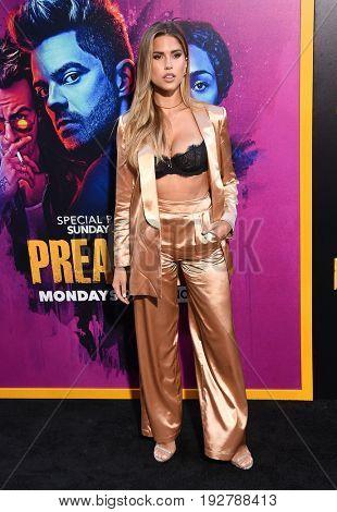 LOS ANGELES - JUN 20:  Kara Del Toro arrives for the AMC Season Two 'Preacher' Premiere Screening on June 20, 2017 in Los Angeles, CA