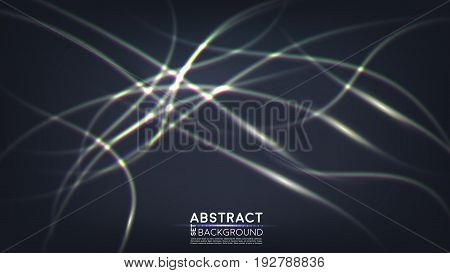 Electrical flashes. Abstract background. Vector. EPS 10
