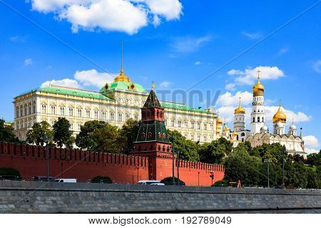 Grand Kremlin Palace. Moscow, Russia