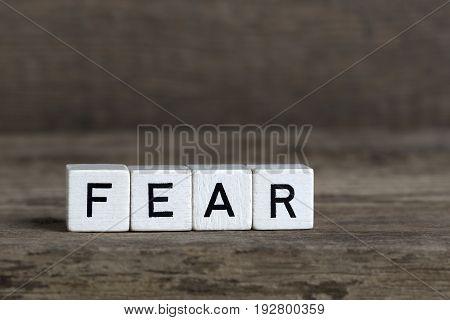 Fear, Written In Cubes