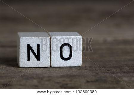 No, Written In Cubes