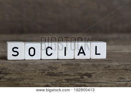 Social, Written In Cubes
