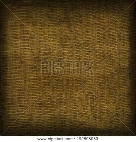 Beige dark vignette canvas jute surface background