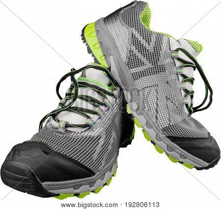 Boots winter waterproof sport green activity white