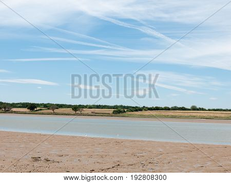 Gorgeous Bay Scene On Summers Day Clear No Body