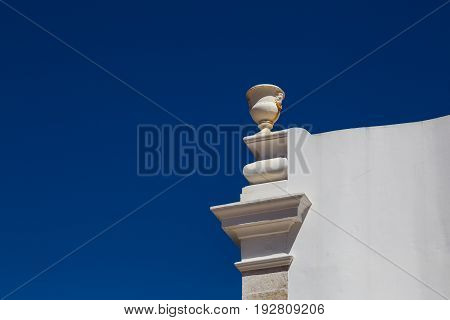 Architectural Detail Of A House In The Historic District Of Lisbon Alfama, Portugal.