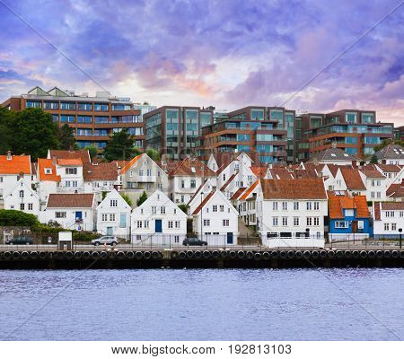 Stavanger Norway - architecture and travel background