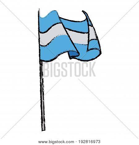 germany flag icon oktoberfest flag germany symbol country banner vector illustration