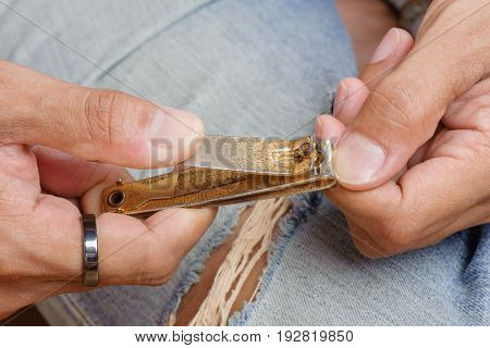 Trimming Nails
