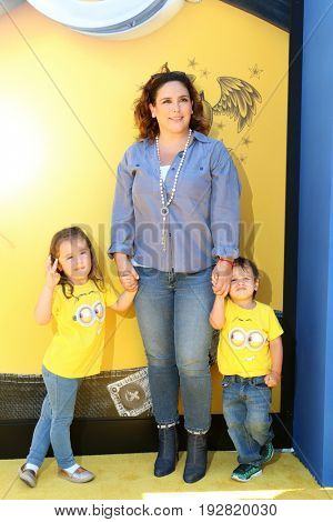 LOS ANGELES - JUN 24:  Angelica Padron, Angelica Vale, Daniel Vale at the