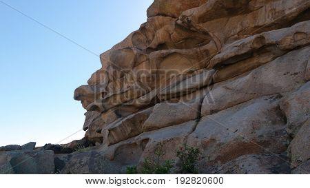 Bektau Ata national park.Kazakhstan