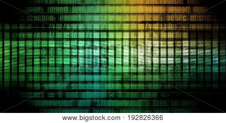 Programming Code as a Technology Abstract Presentation Background