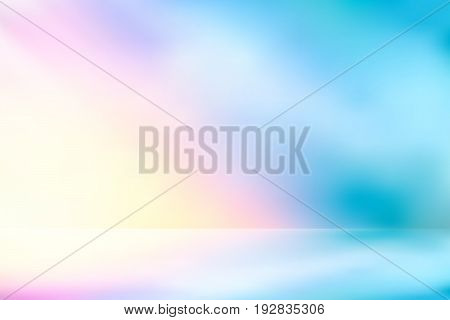 vector sunlight nature glitter, soft pastel Sweet color nature, illustration pastel Sweet color filter abstract for background