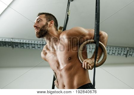 Exercising With Gymnastic Rings