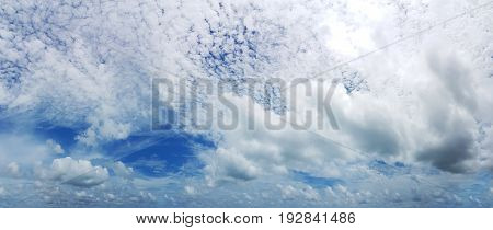 Sky with clouds backgrounds Blur. sky clouds backgrounds.Sky clouds with sunrise. Clear sky.