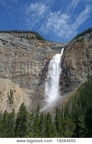 Takakkaw Falls, Yoho National Park, the third highest in Canada