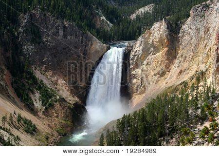 Yellowstone Fall, Yellowstone National Park