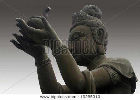 The buddha worshiper