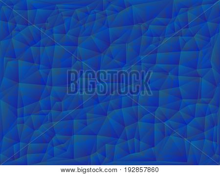 Vector illustration. Abstract polygonal background. A geometric chaotic drawing. For use in graphic design, for brochures, wallpapers for a phone, website.