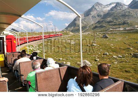 Bernina Express Train, Unesco World Heritage
