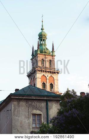 Ukraine, Lviv: Ancient Architecture Of Lviv , Western Ukraine , Old City , Architectural Monument ,