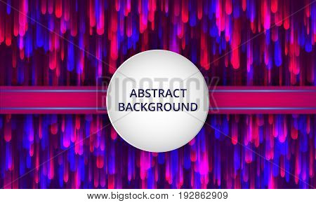 Vector illustration background with colorful shining. Abstract creative concept vector, layout template