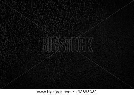 Black leather texture background , Leather background.