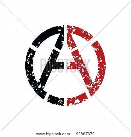 Anarchy Atheism Socialist Logo - Logotype Vector Art