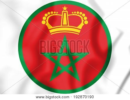 3D Roundel Of The Morocco.