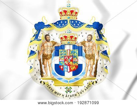 Greek Royal Coat Of Arms.