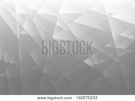 Abstract gray geometric on background with light