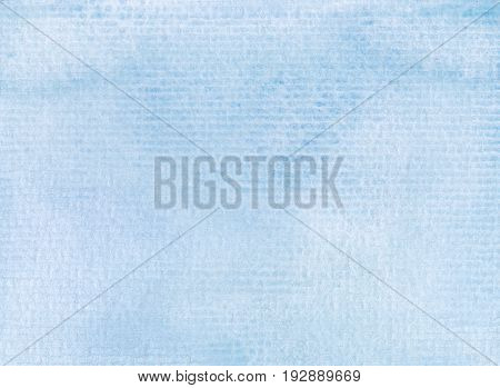 watercolor background paint on linear paper textures in light blue tones