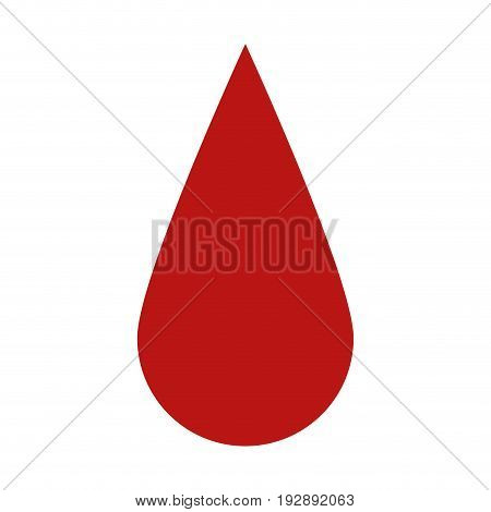 droplet blood donation related icon image vector illustration design