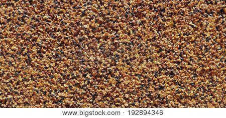 Tiny Sand Stone Wall Background