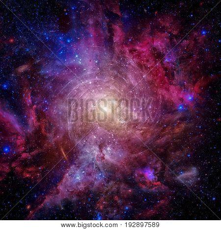 Nebula In Space.